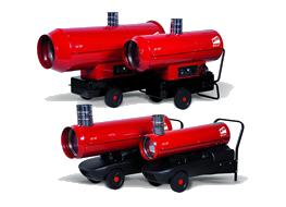 Пушки непрямого нагрева Ballu-Biemmedue Arcotherm серии EC