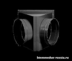 Адаптер на 2 выхода для крепления рукавов Ballu-Biemmedue арт. 02AC343