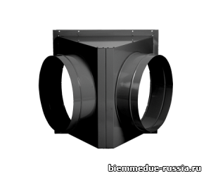 Адаптер на 2 выхода для крепления рукавов Ballu-Biemmedue арт. 02AC522
