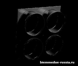 Адаптер на 4 выхода для крепления рукавов Ballu-Biemmedue арт. 02AC538