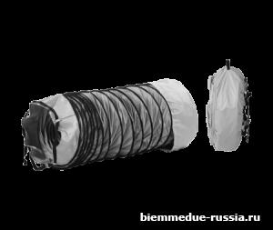 Гибкий рукав из ПВХ 6 м с фиксирующим ремнем Ballu-Biemmedue арт. 02AC562