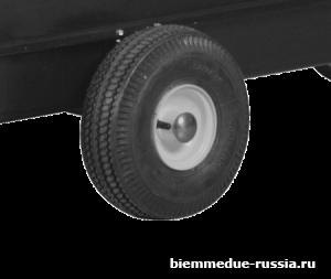 Комплект пневматических колес ∅ 250 мм Ballu-Biemmedue арт. 02AC599