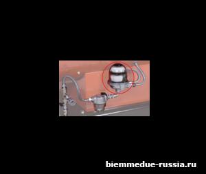 Комплект подключения топливного бака с деаэратором Ballu-Biemmedue арт. 02AC633