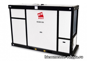 Корпусной нагреватель воздуха непрямого нагрева с центробежным вентилятором Ballu-Biemmedue SCUDO 235