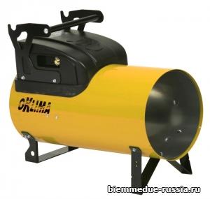 Мобильный нагреватель воздуха прямого нагрева ручного и электронного поджига Oklima SG 120 M C