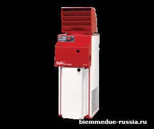 Промышленный стационарный нагреватель воздуха непрямого нагрева Biemmedue CONFORT 2G Oil