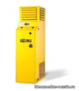 Промышленный стационарный нагреватель воздуха непрямого нагрева PLUG&PLAY Oklima SF 120