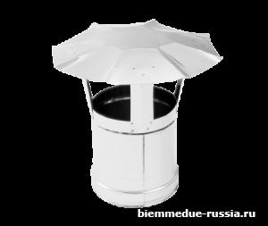 Зонт дымохода из нержавеющей стали Ballu-Biemmedue арт. 02AC284